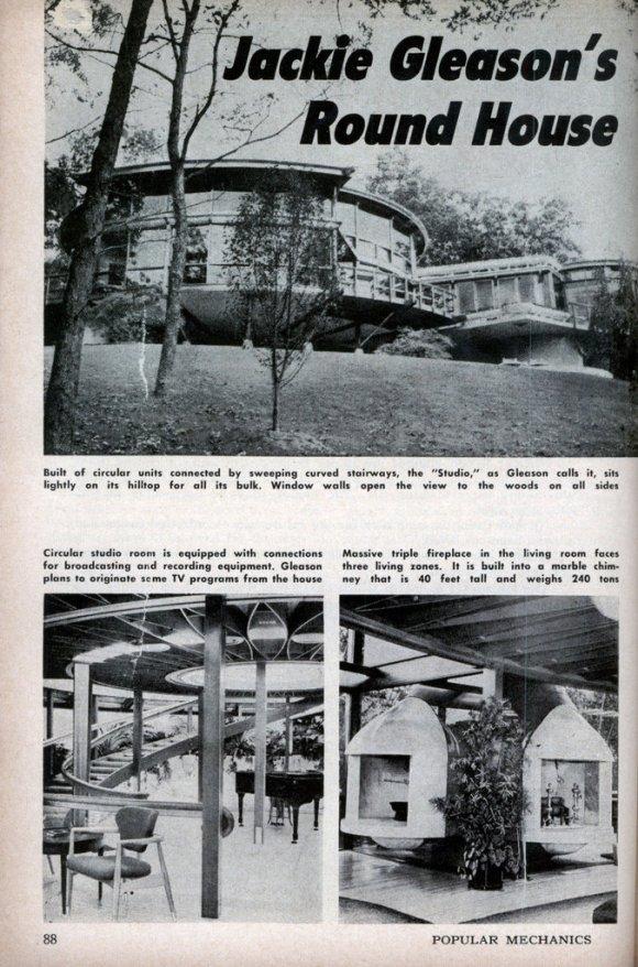 Jackie Gleason's round house