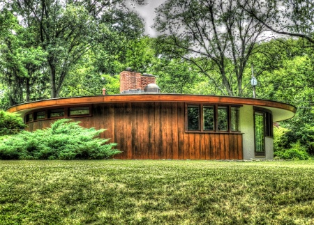 Frank Lloyd Wright 171 Round Houses