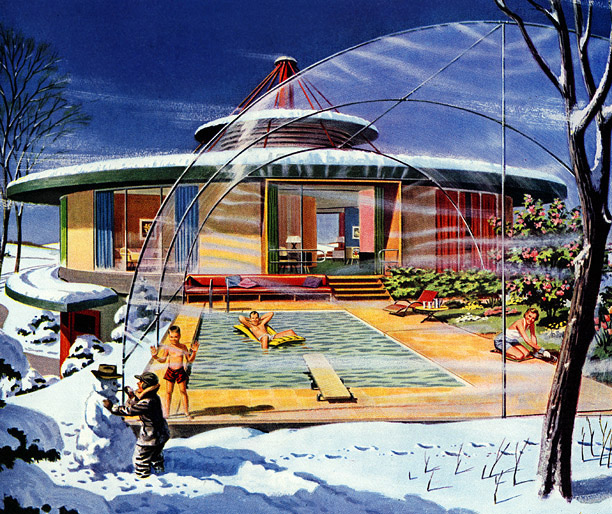 House Of The Future Round Houses