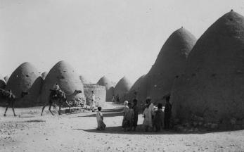 syrian beehive village