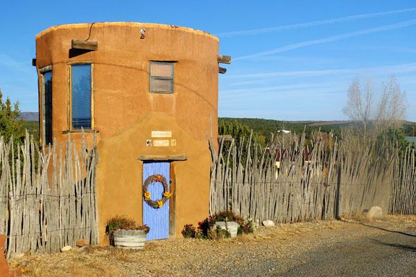 New Mexico Round Houses