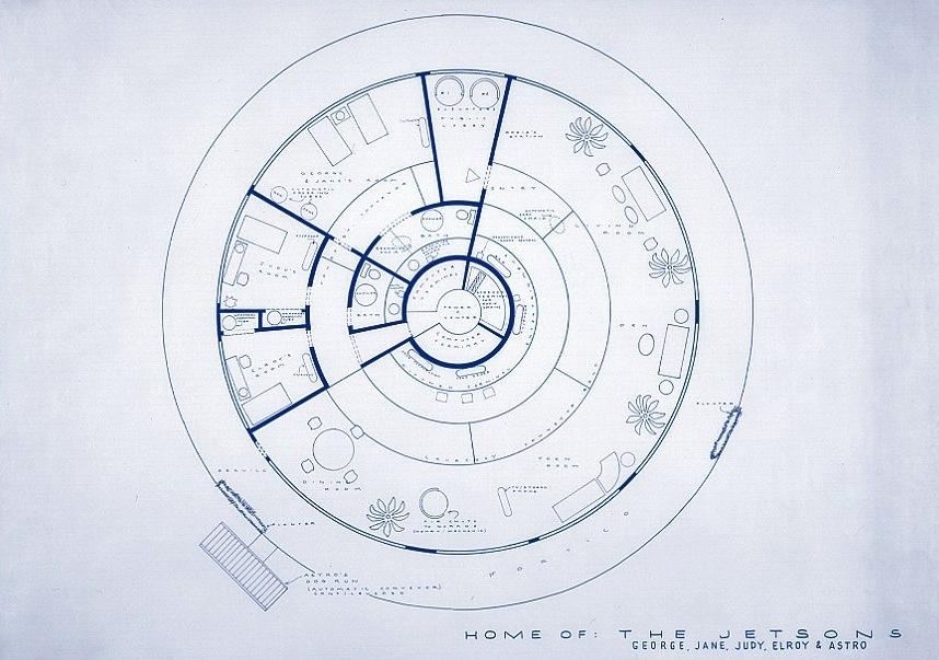 Astonishing Futuro House Floor Plan Gallery - Exterior ideas 3D ...