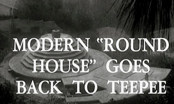 """modern """"round house"""""""
