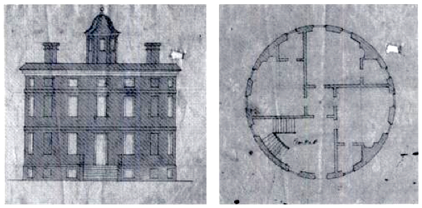 Early 18th century round house round houses for 18th century house plans