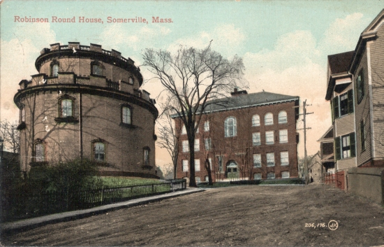 somerville round house 1913