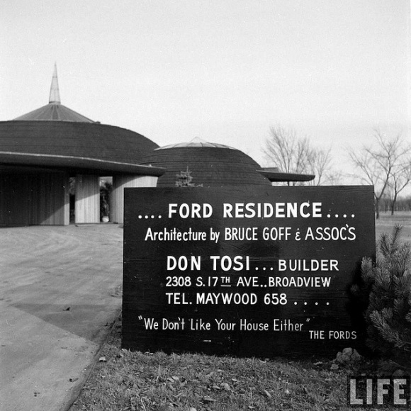goff, ford house, life mag, 1951