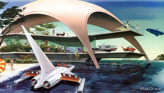 vacation house of the future