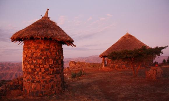 northern ethiopia sunrise