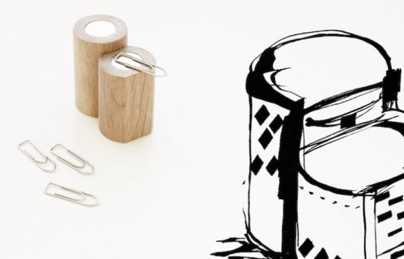melnikov paper clip holder